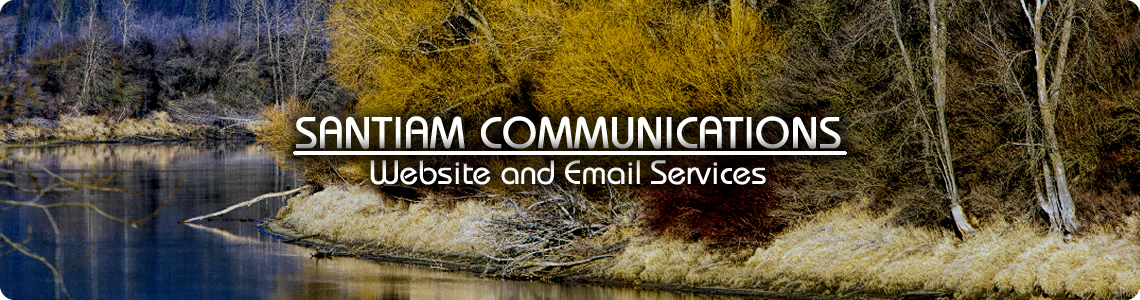 Santiam Communications Website and Email Services
